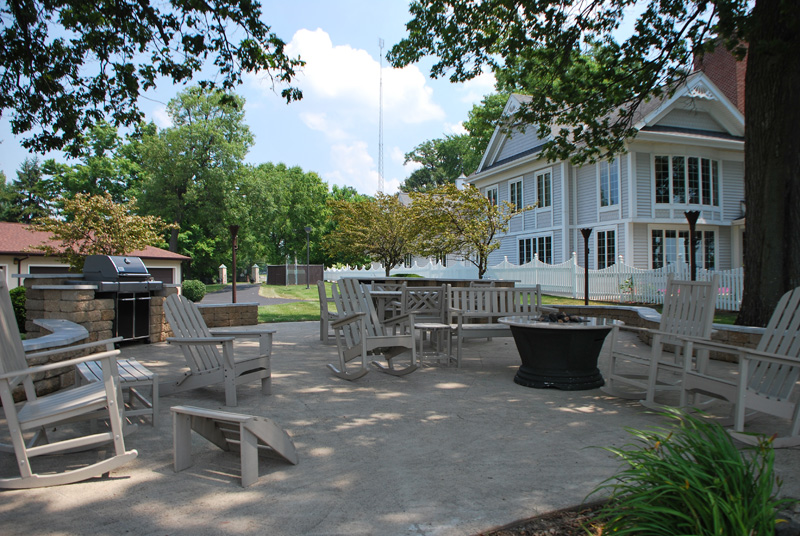 Spinks Heated Swimming Area Outdoor Grill And Patio Area ...